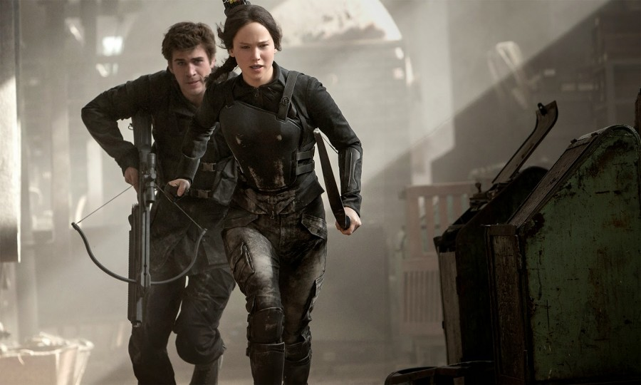 """The Hunger Games: Mockinjay Part 1"" Movie review by David Morris - LA"