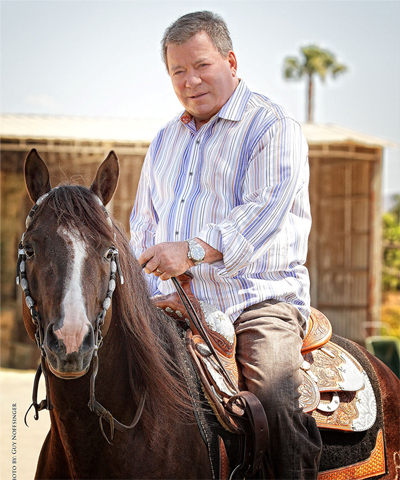 William Shatner Priceline.com Horse Show