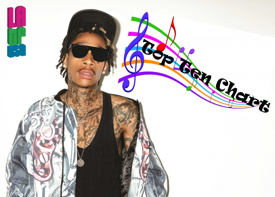 Wiz Khalifa LATF Top Ten Music Chart