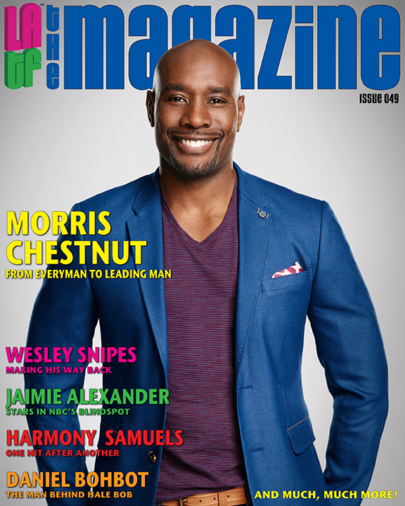 "Morris Chestnut LATF interview ""Rosewood"""