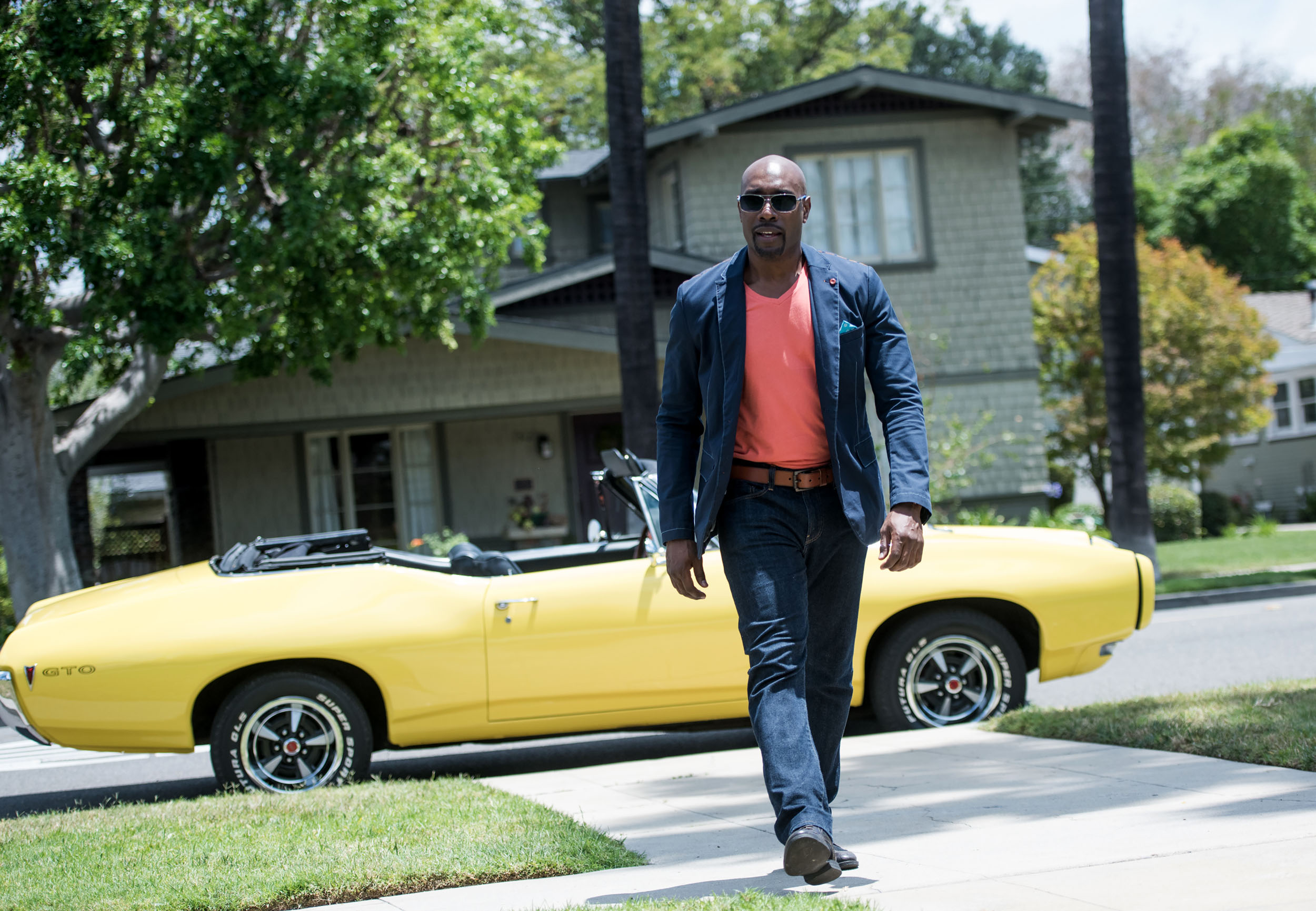 Morris Chestnut LATF interview by Pamela Price