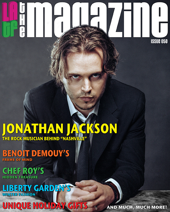 Jonathan Jackson - LATF The Magazine cover story by Pamela Price