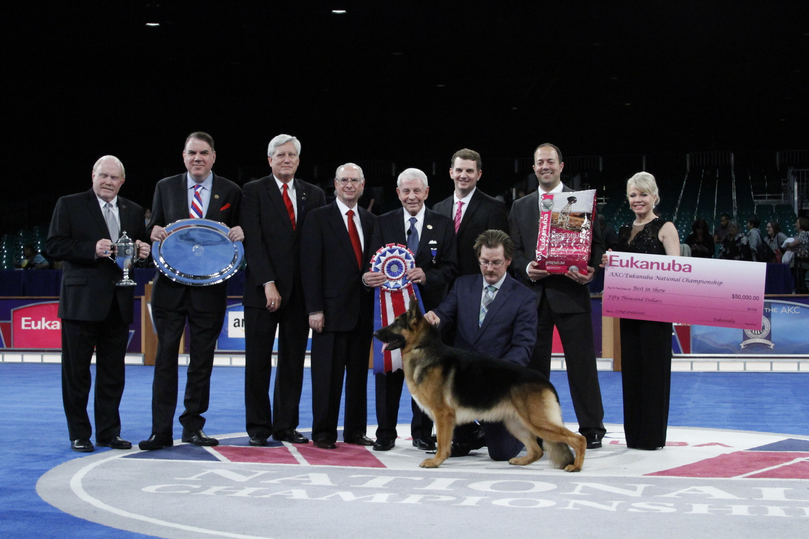 American Kennel Club german shepherd best in show