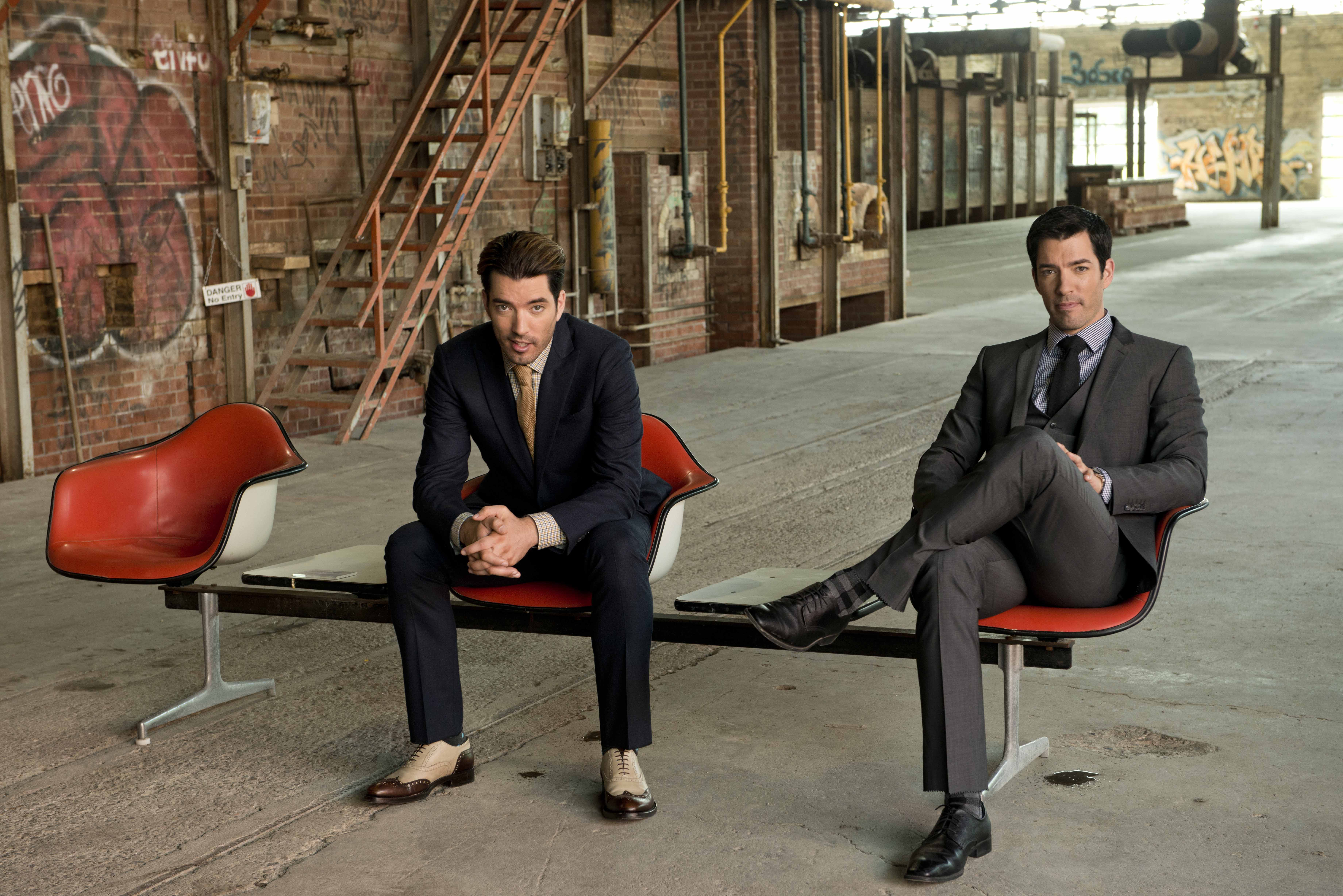 Property Brothers, HGTV interview by Michele Elyzabeth - LATF USA