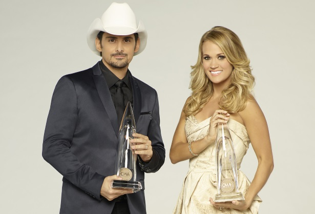 "Brad Paisley, Carrie Underwood, ""The 50th Annual CMA Awards"""