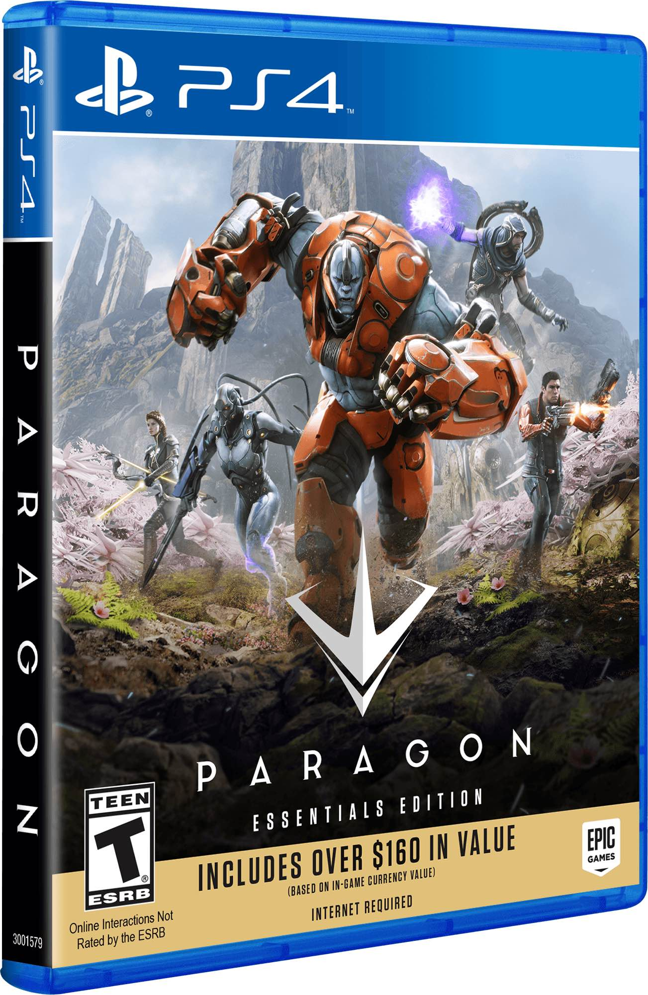 epic games, paragon essentals