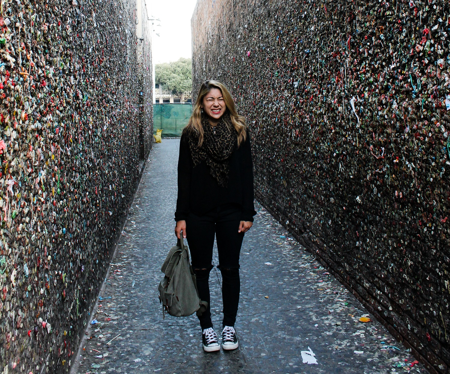 Bubblegum Alley, San Luis Obispo, Pamela Price, travel story