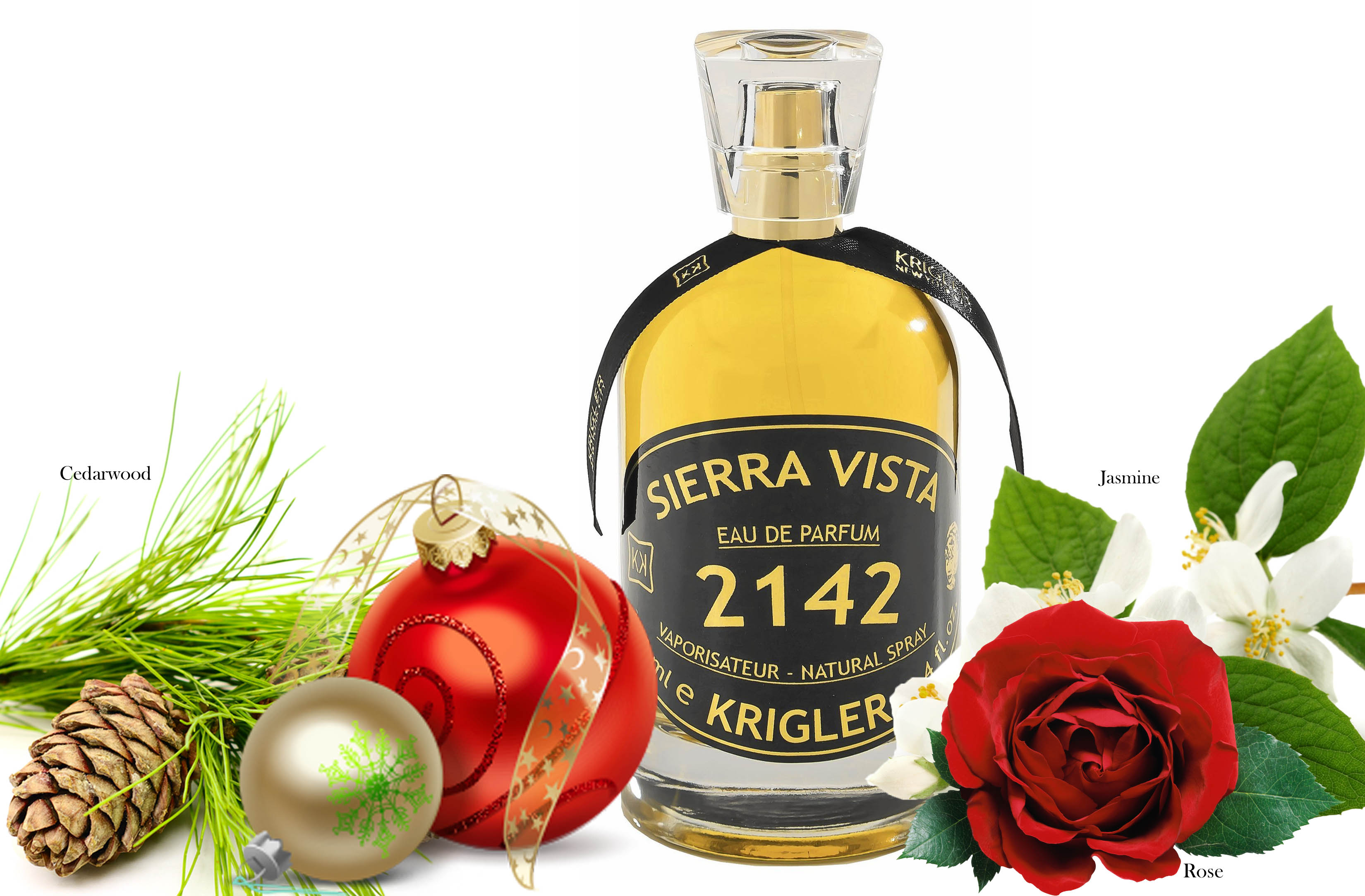 Krigler fragrances, Sierra Vista 2142, holiday gift idea