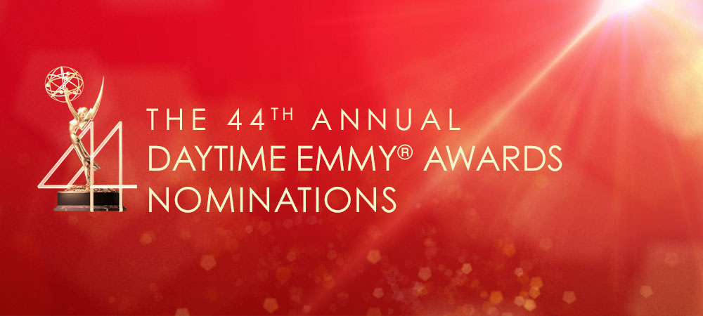 The daytime emmy awards nominations 2017