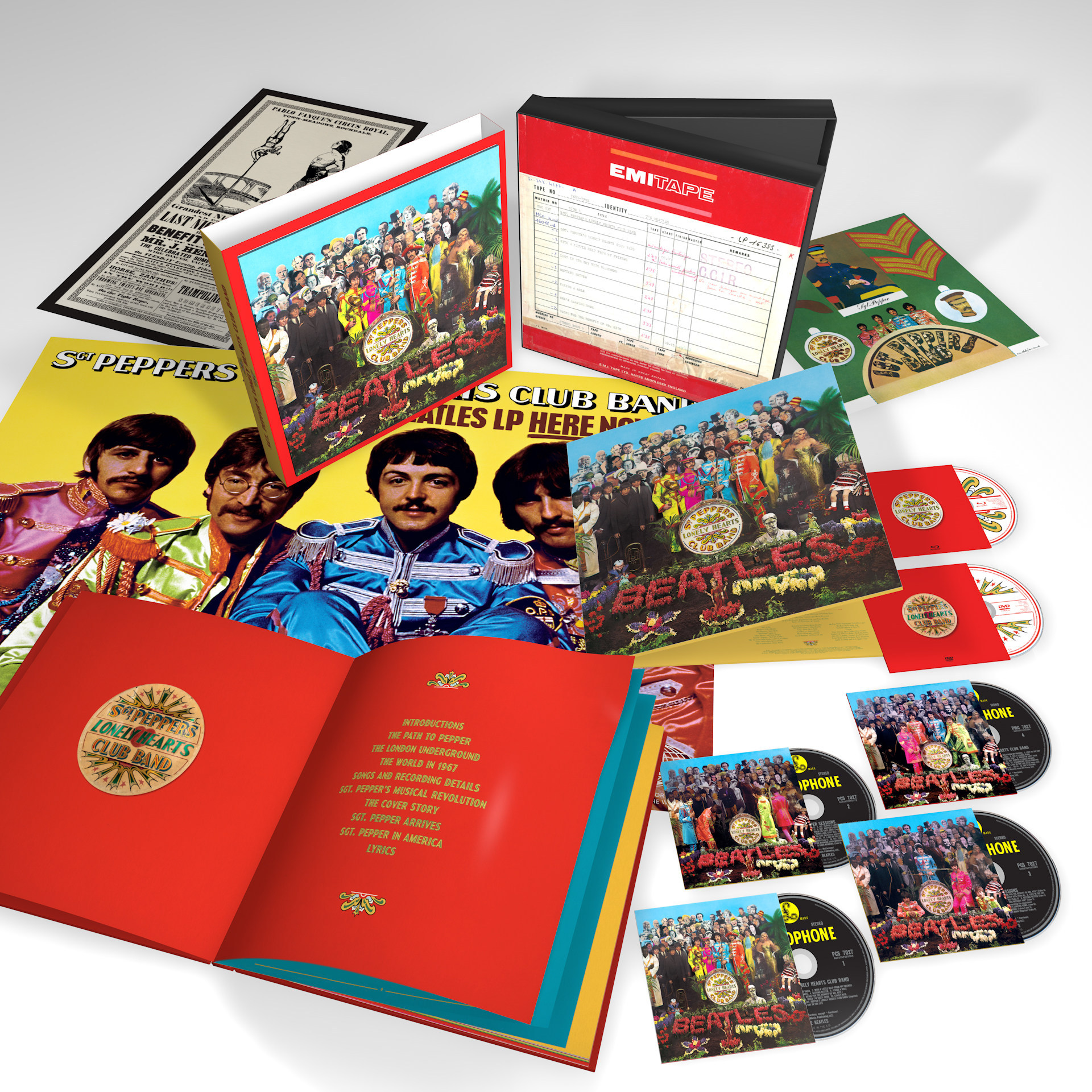 the beatles sgt pepper lonely hearts band anniversary