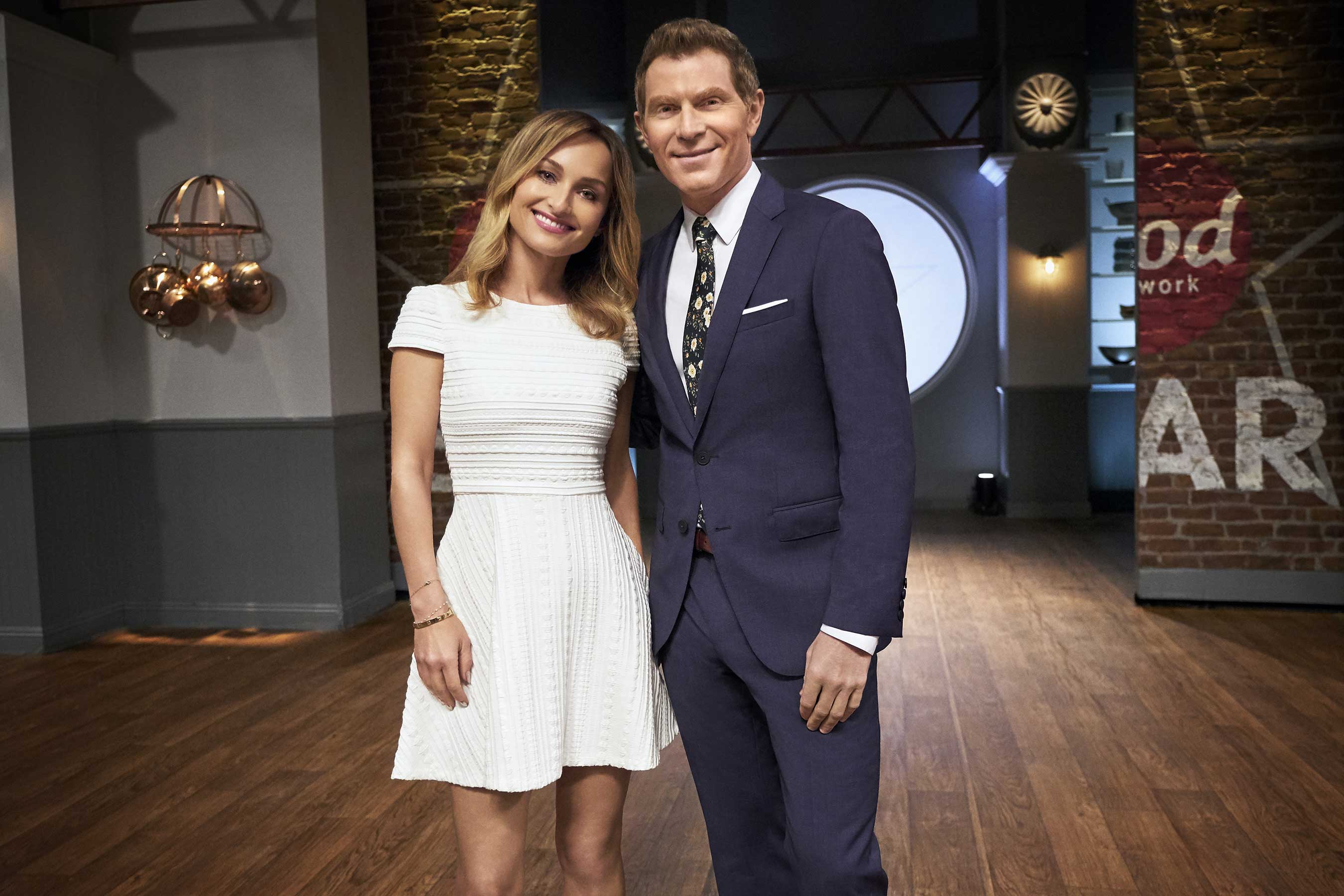 Food network star, bobby flay, giada