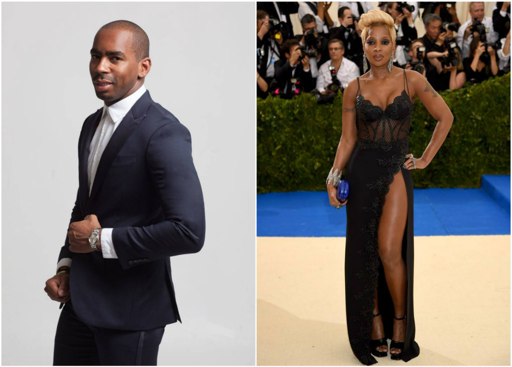 Jason Bolden, mary j. blige, met gala