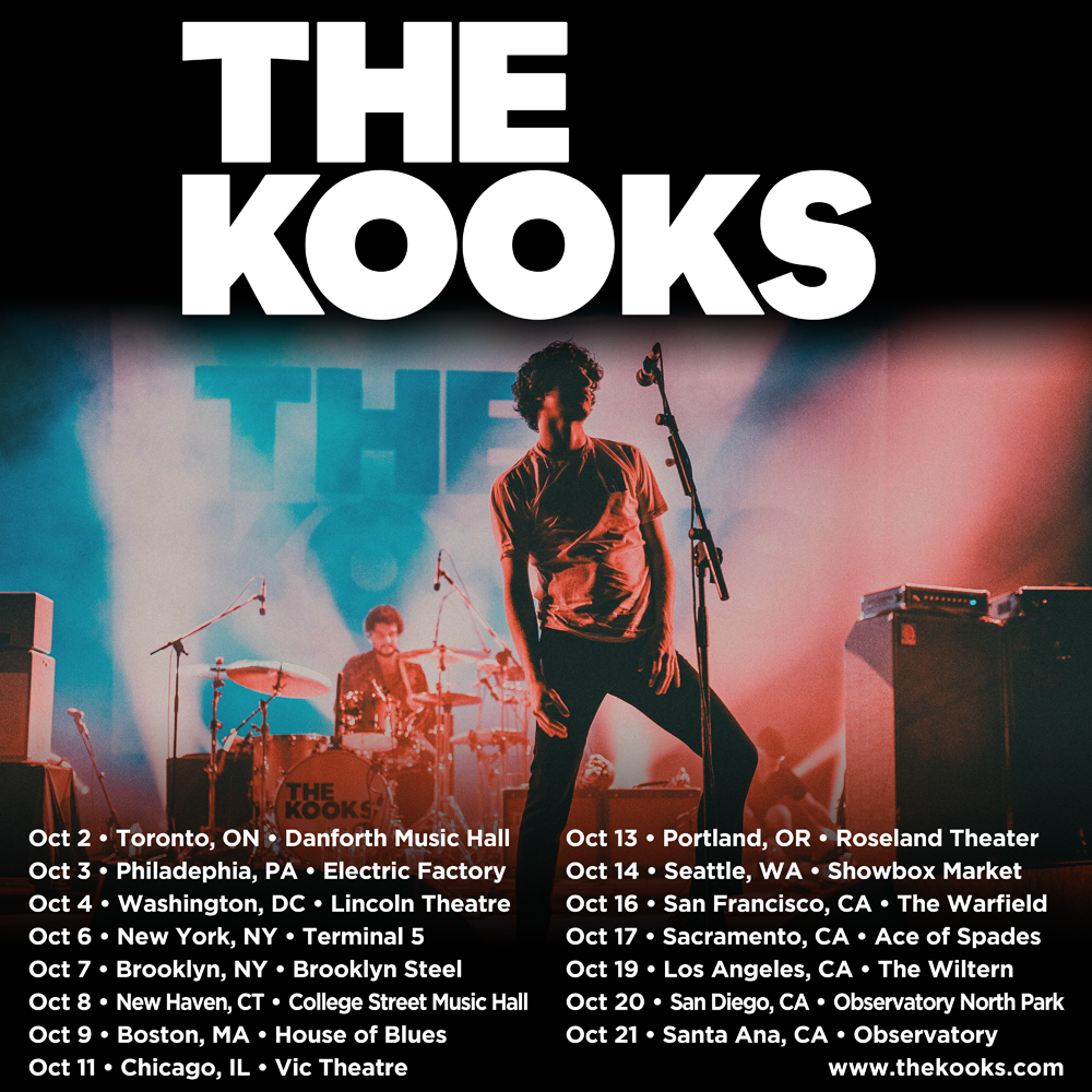 The Kooks Fall Tour Dates