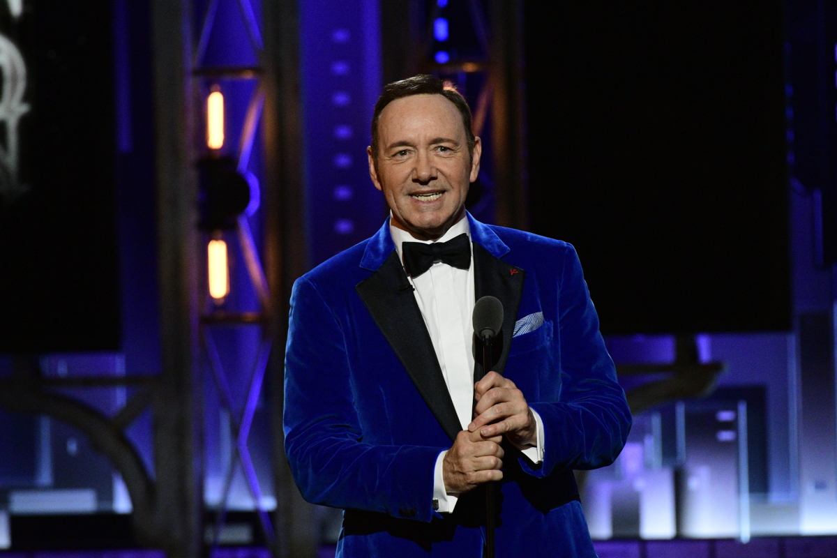 kevin spacey, tony awards, pamela price