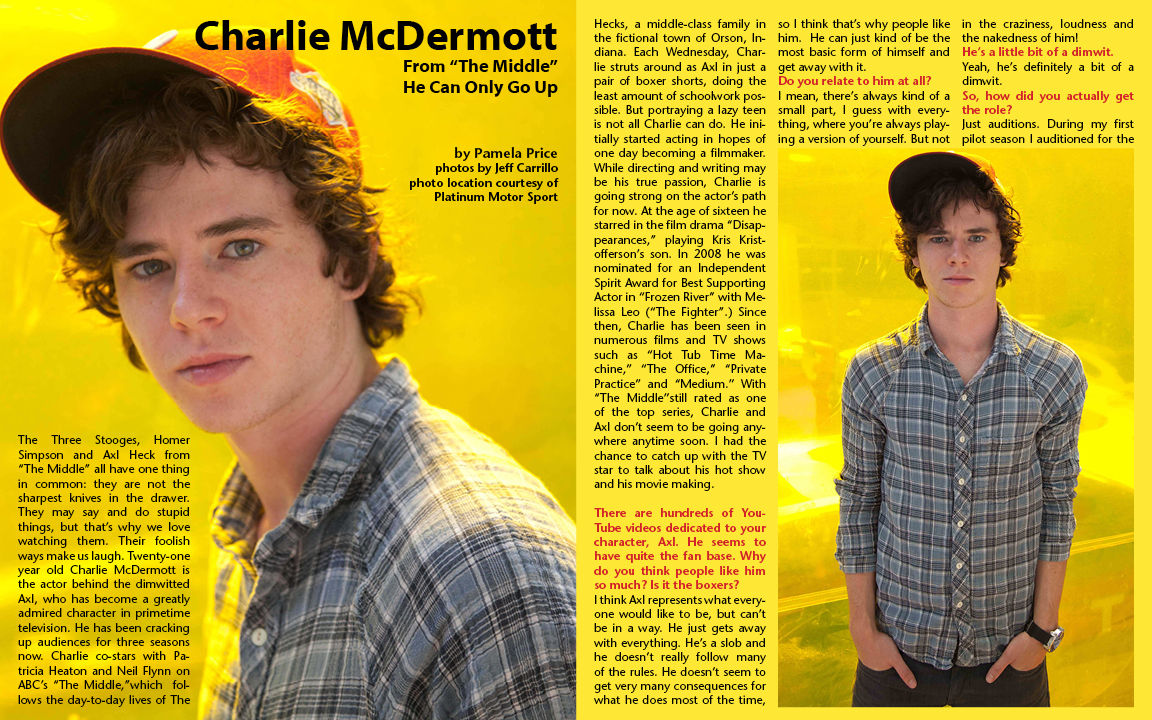 Pamela Price, Charlie Mcdermott, latf interview