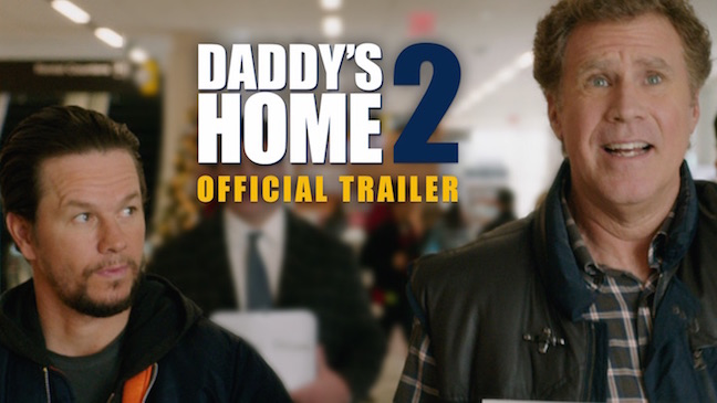 daddys home trailer