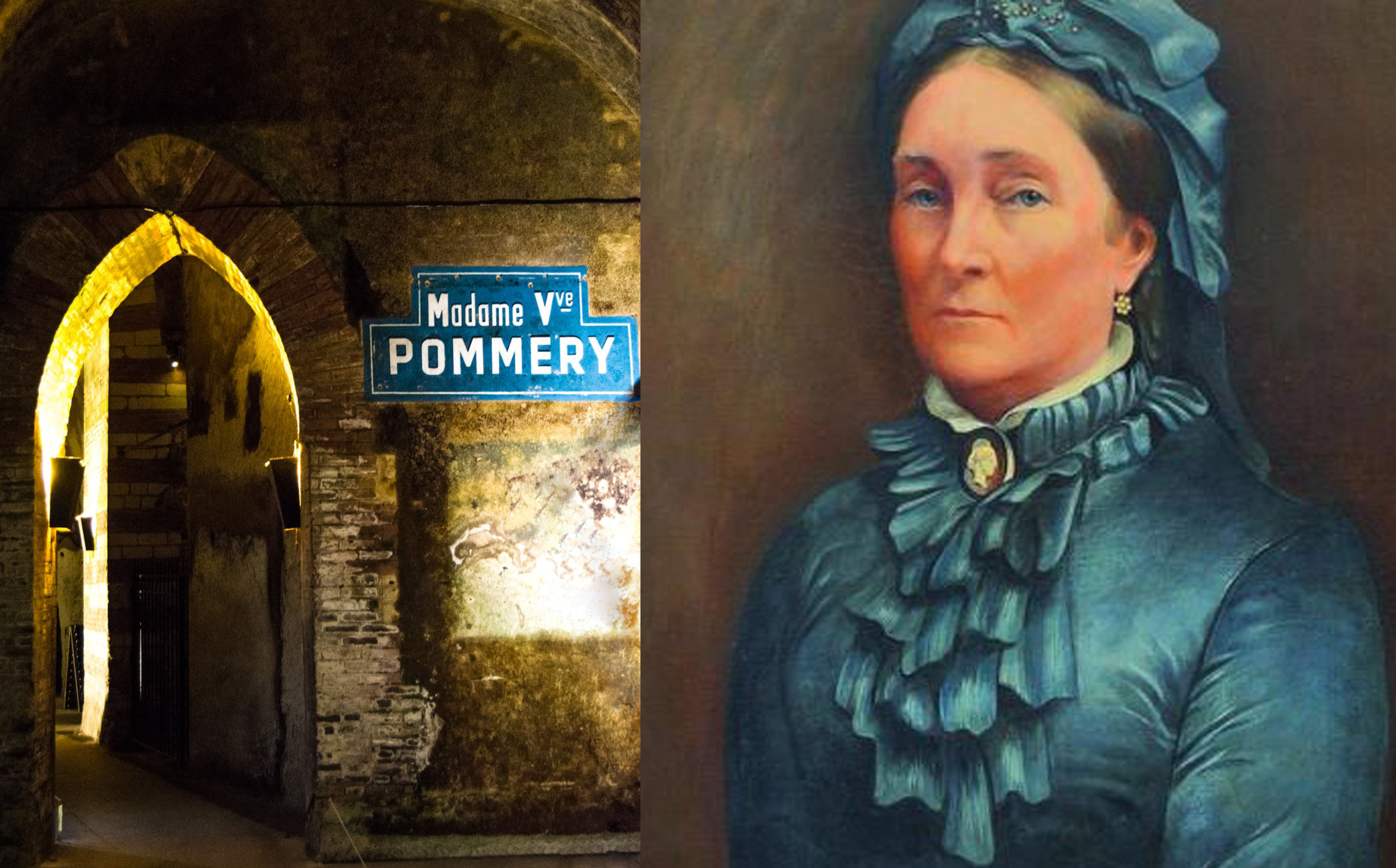 Champagne Pommery Cave & Louise