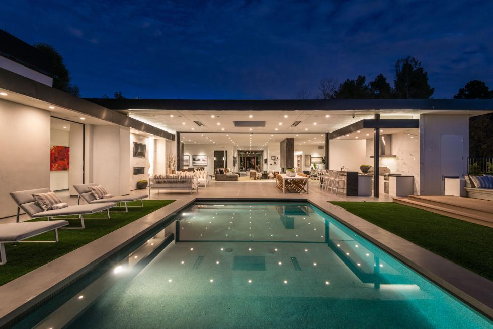 Dean martin, beverly hills home, real estate