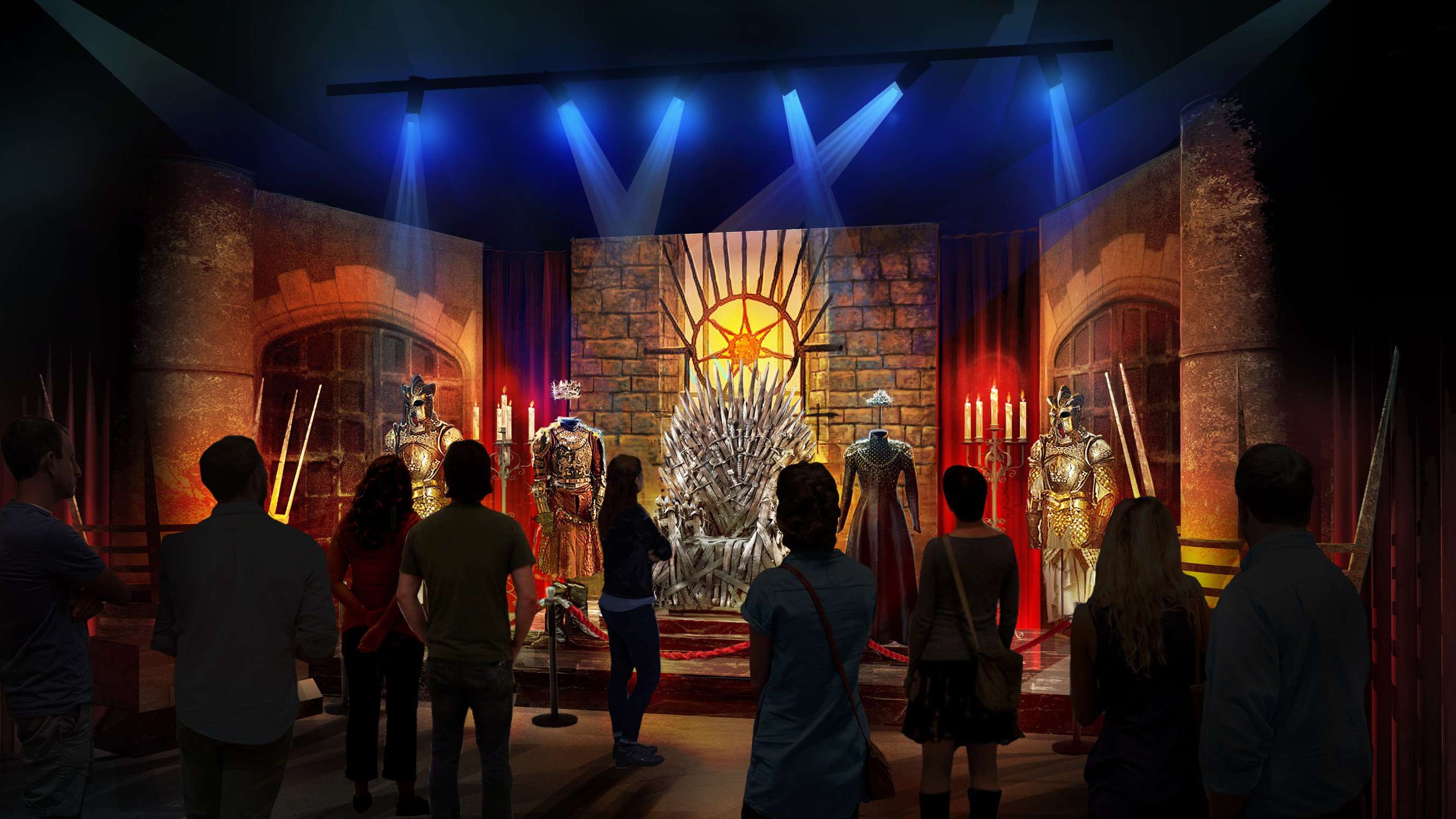 game of thrones, exhibit