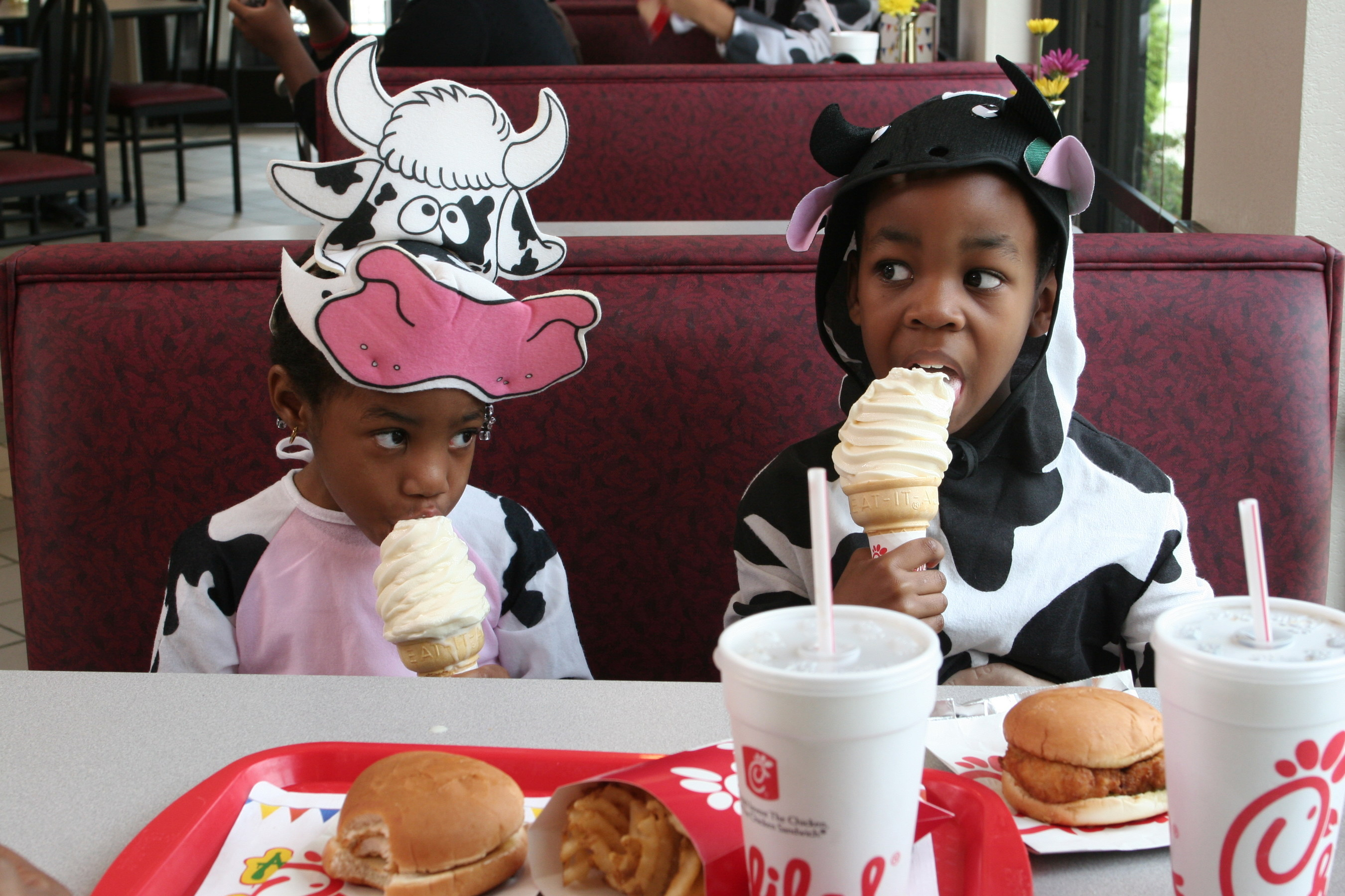 Chick-Fil-A Cow Costumes
