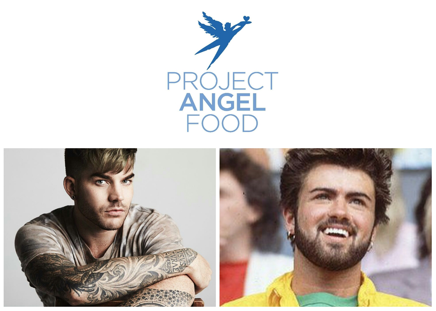 Project Angel Food, George Michael and Adam Lambert