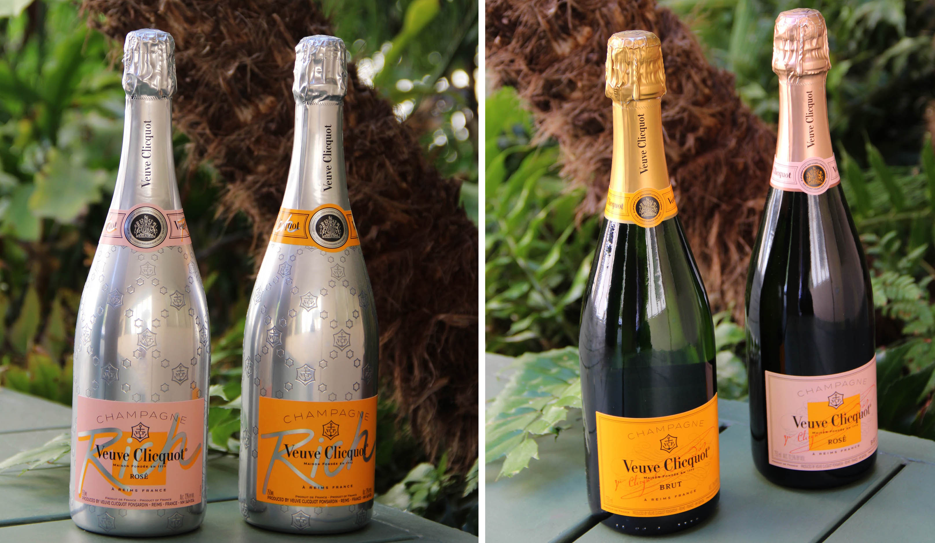 Veuve Clicquot Bottles