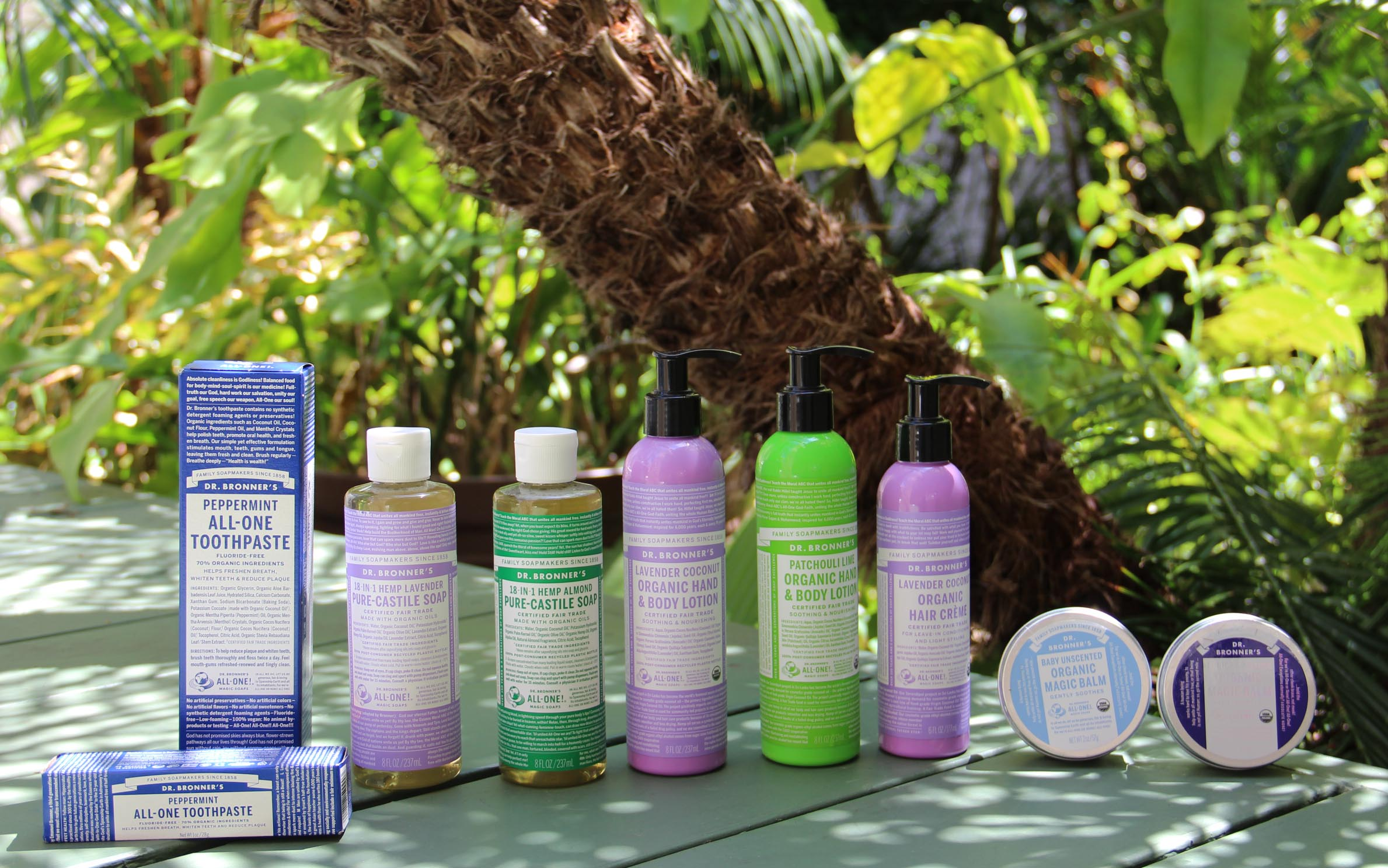 Dr Bronner Products
