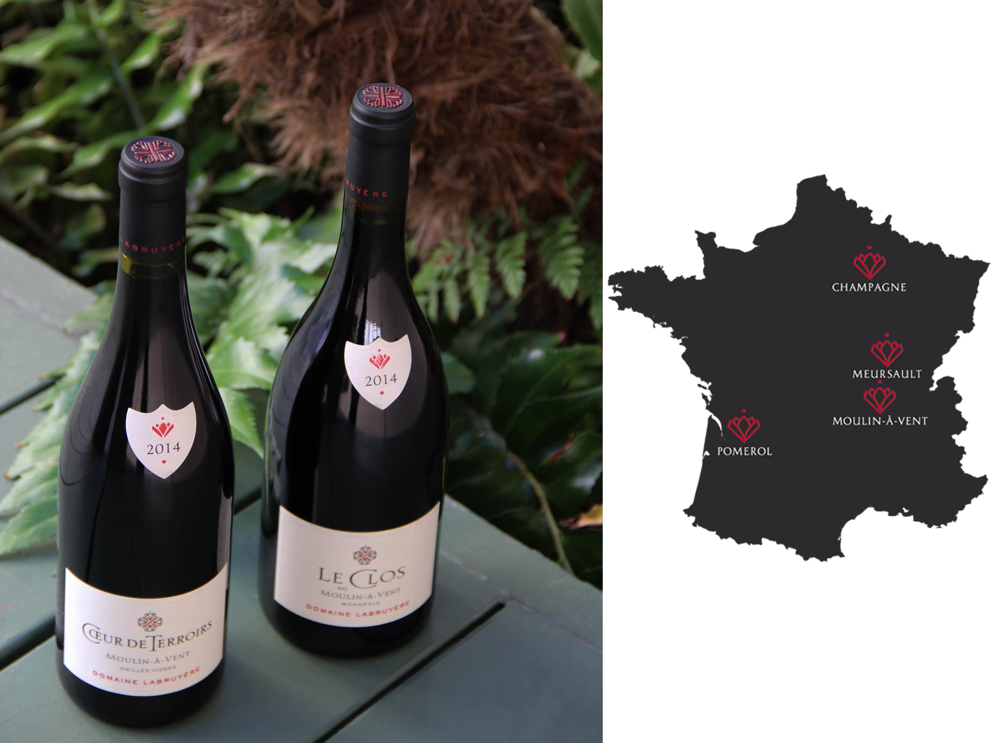 Domaine Labruyere wines & map