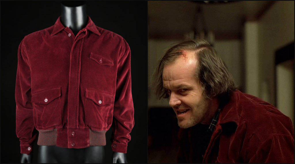 jack nicholson the shining jacket, auction