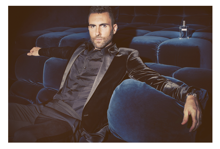 Adam Levine, YSL fragrance