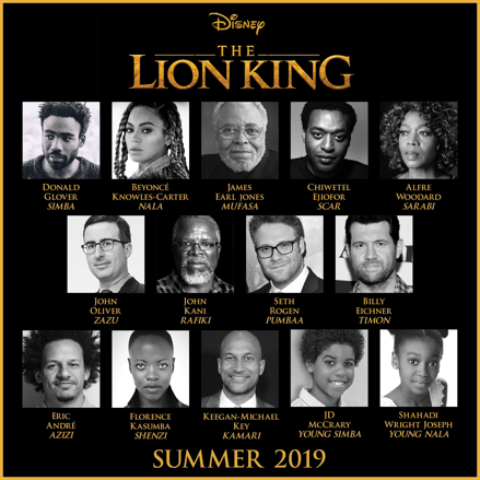 The Lion King, beyonce, donald glover