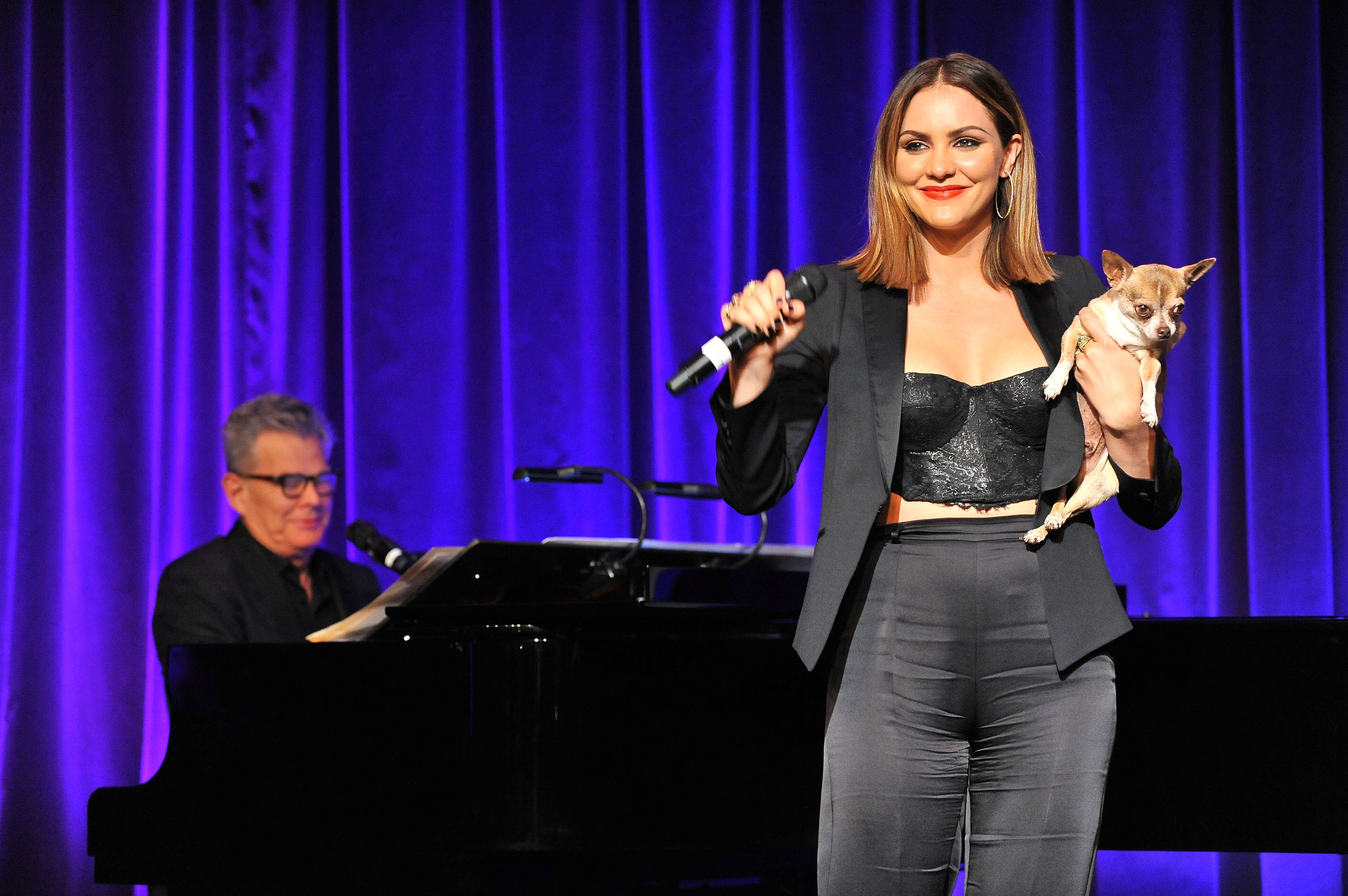 katherine mcphee, david foster, wildaid