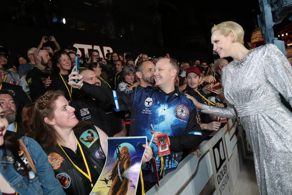 Star Wars The Last Jedi, Los Angeles premiere, red carpet ,photos
