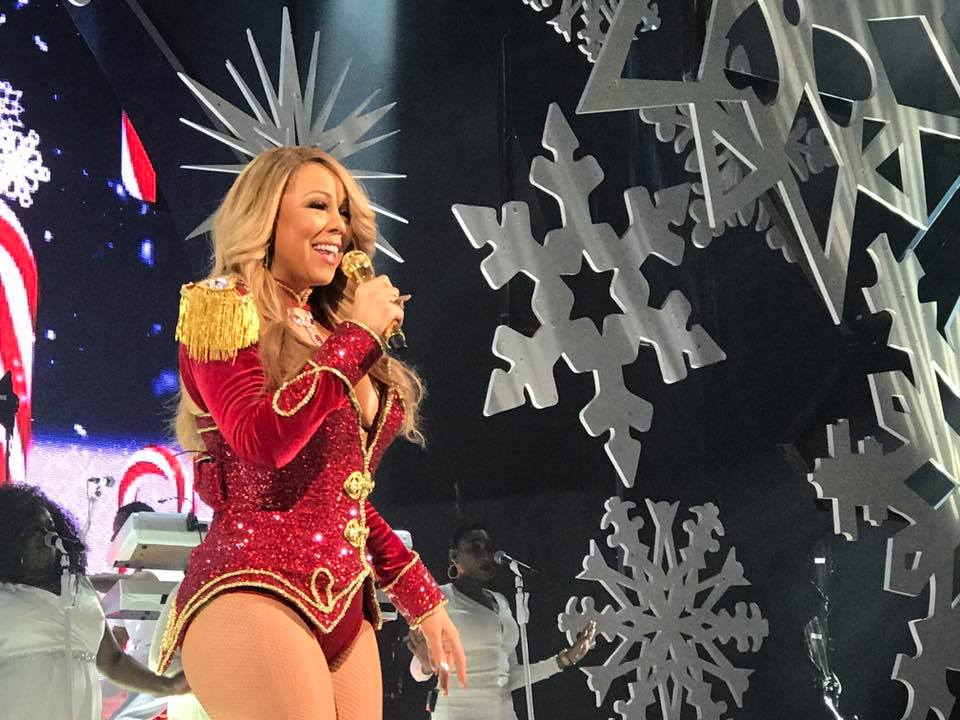 Mariah Carey New Years eve 2017