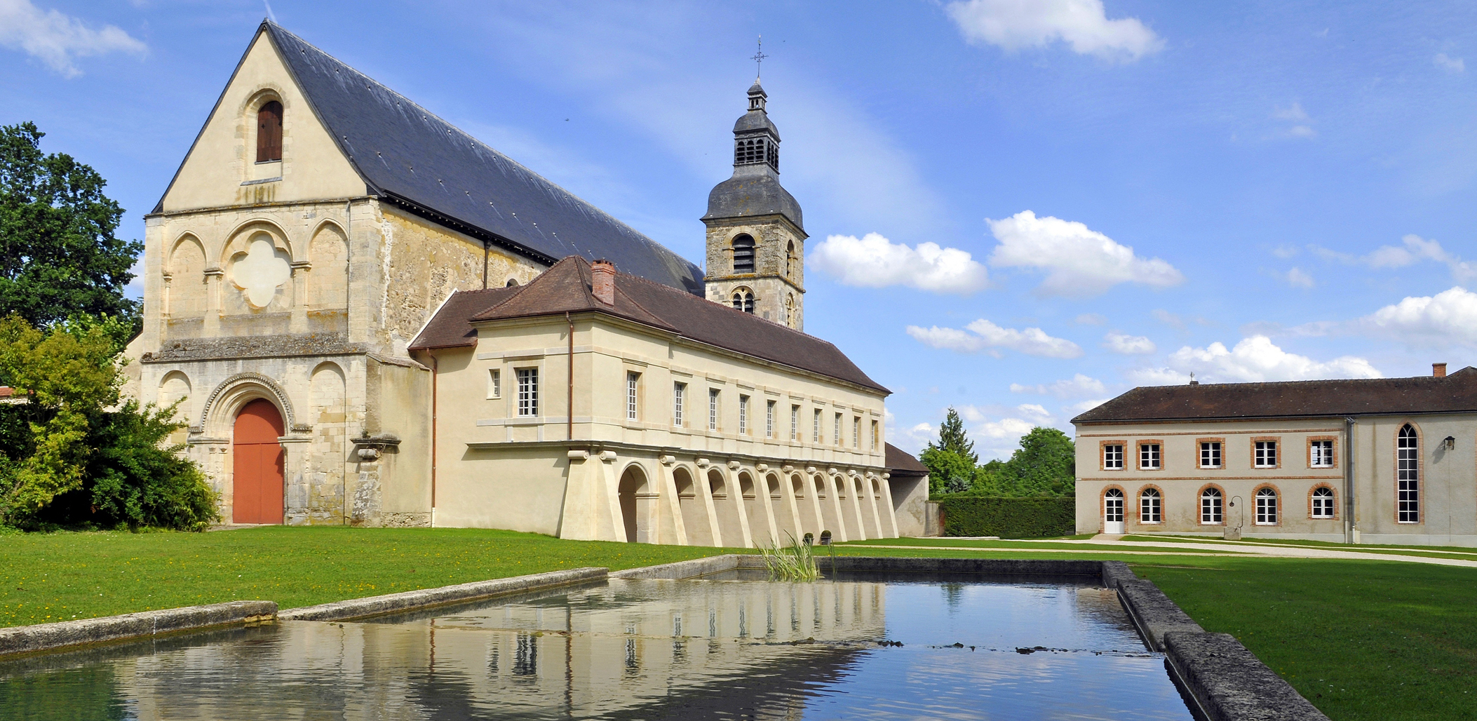 Benedictine abbey in Hautvillers