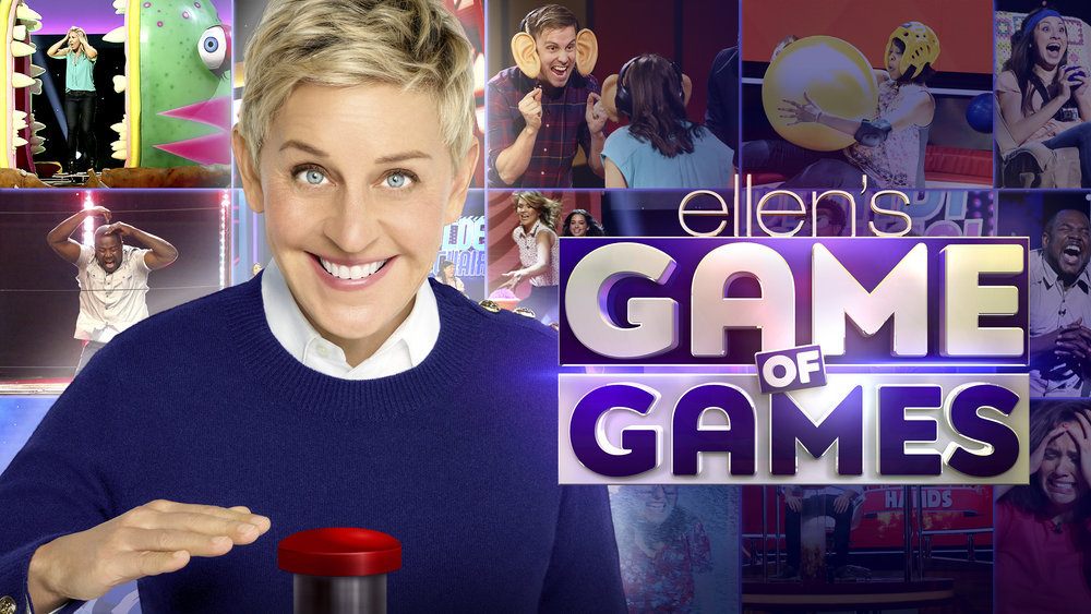 Ellen Degeneres, game of games
