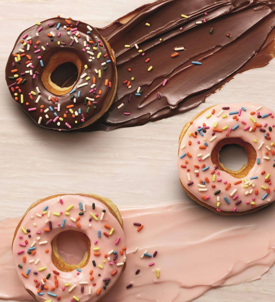 Dunkin Donuts, no more artificial dyes