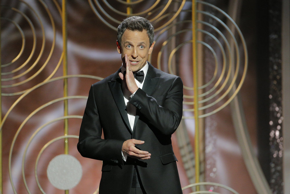 Seth Meyers, 2018, 75th golden globes