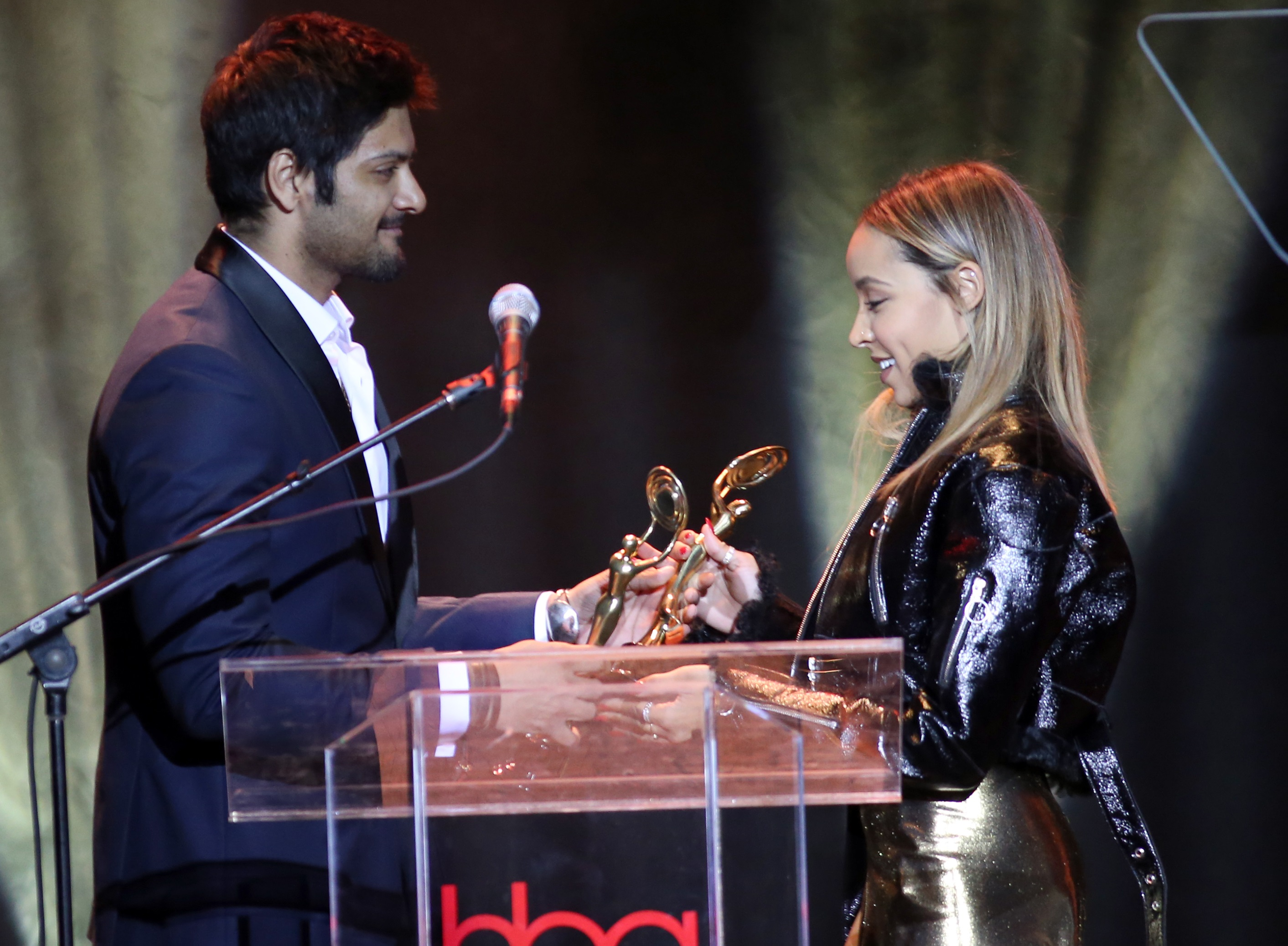 Ali Fazal, Tinashe, Hollywood Beauty Awards