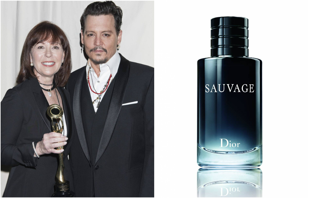 Pamela Baxter, Johnny Depp, Hollywood Beauty Awards, Dior