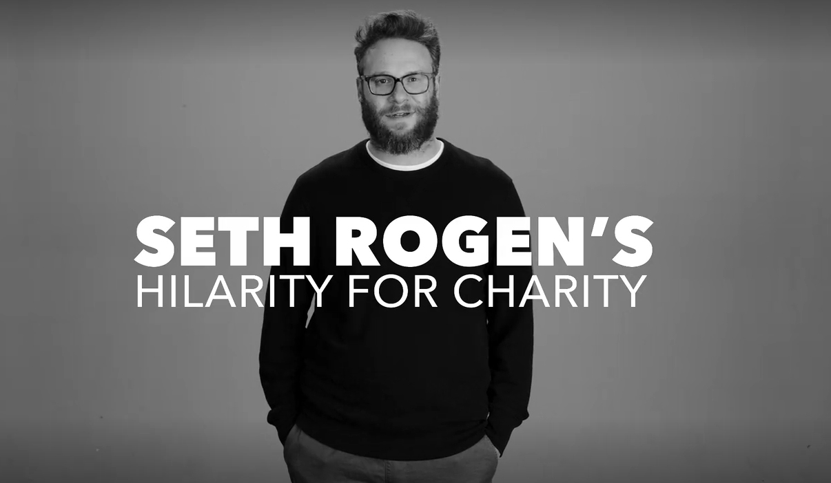 Seth Rogen, hilarity for charity, netflix