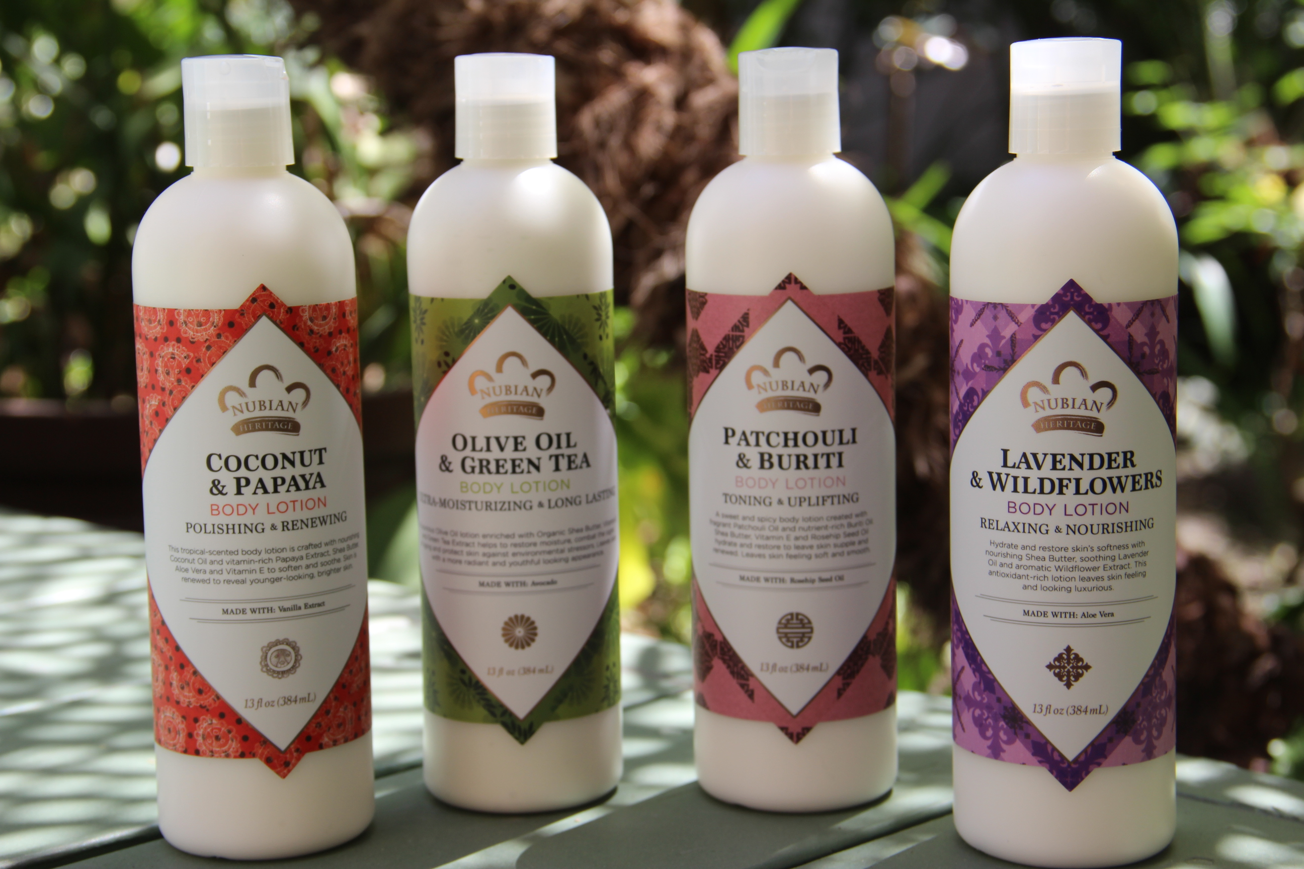 Nubian Heritage lotions