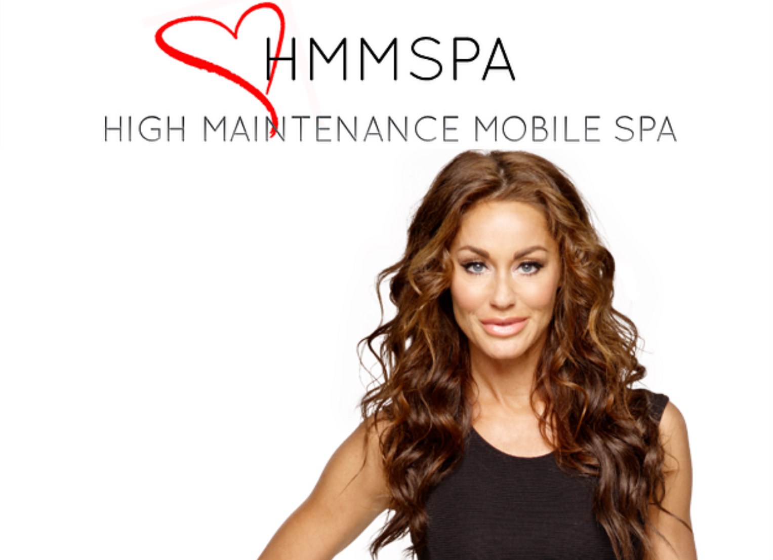 high maintenance mobile spa, Melanie marden