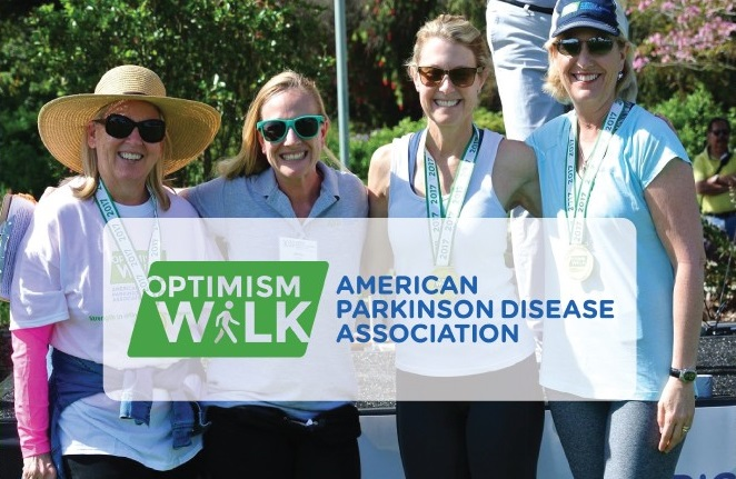 optimism walk parkinson's disease