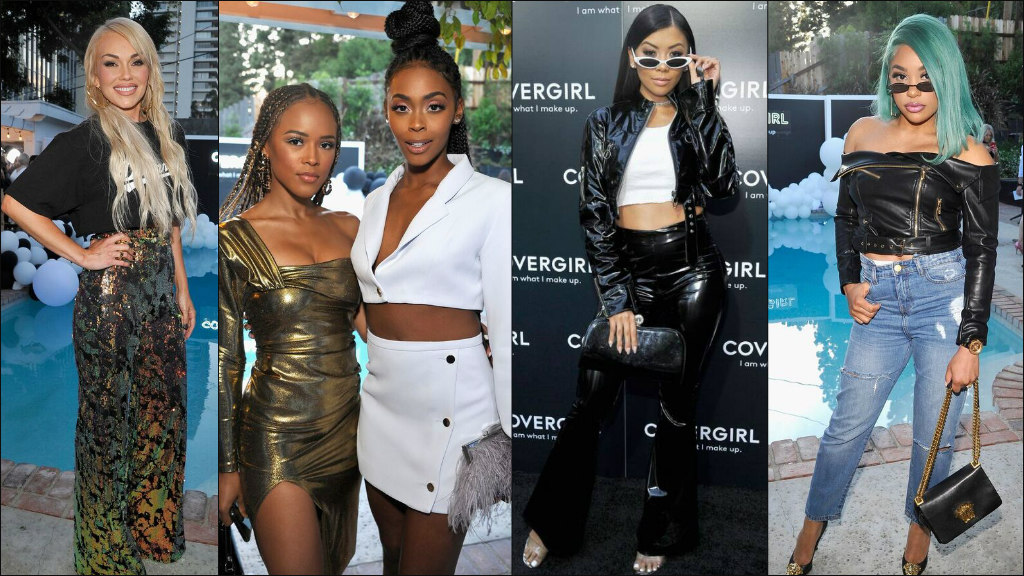 covergirl, Serayah McNeill, nafessa williams