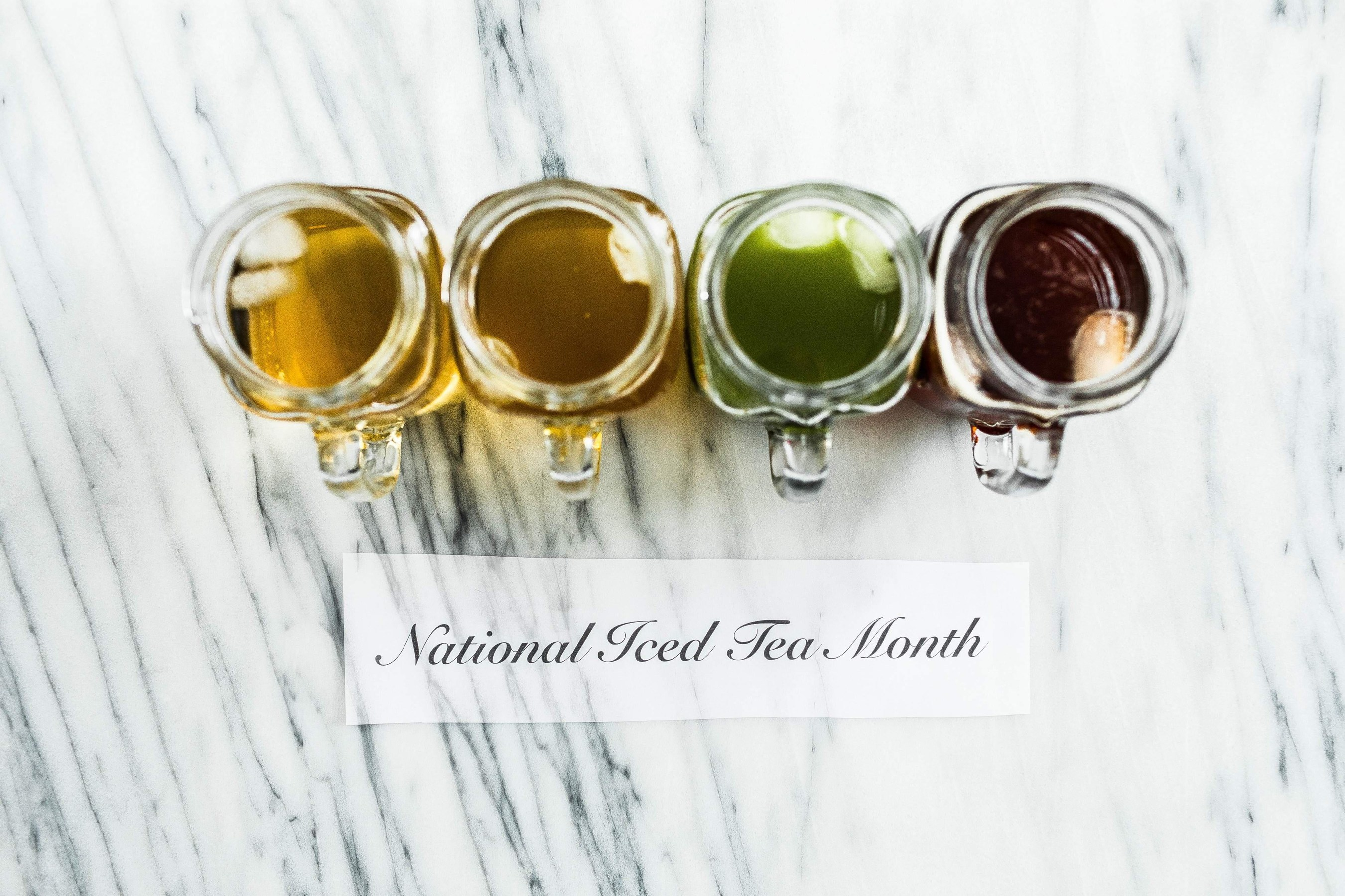 national ice tea month