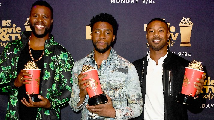 MTV movie and tv awards black panther