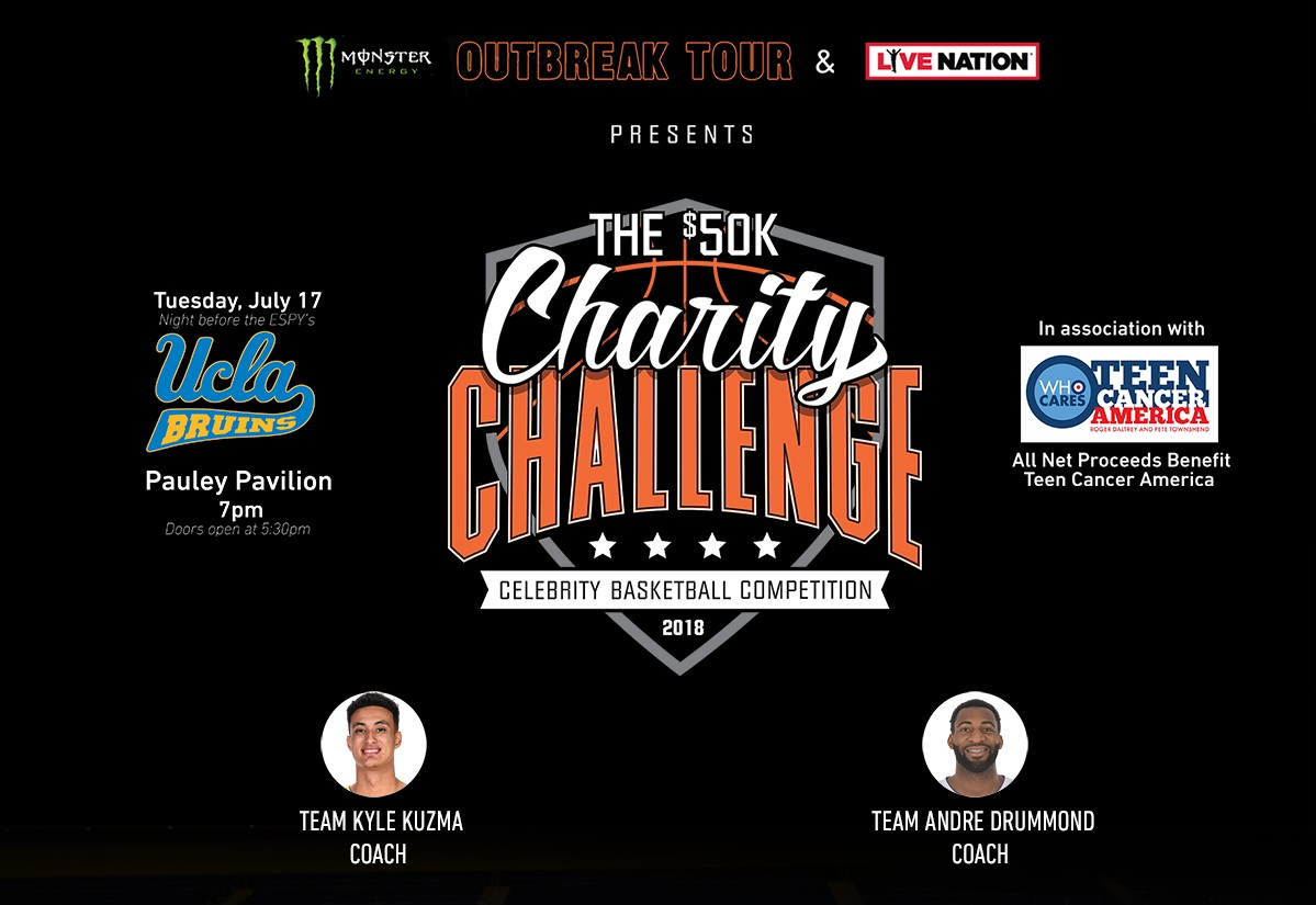 50k celebrity charity challenge basketball game