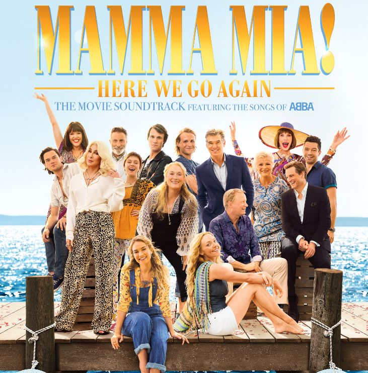 mamma mia soundtrack 2018