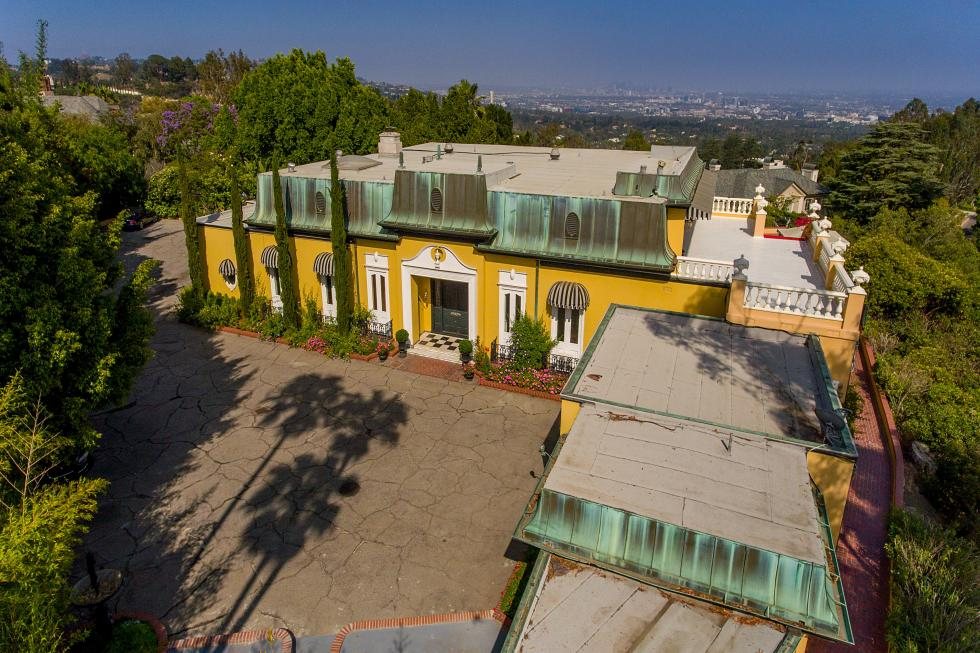 Zsa Zsa Gabor home, real estate